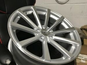 19 Staggered Silver Cv1 Concave Style Rims Wheels Fits Honda Accord Lexus 5x114