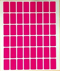 960 All Purpose Easy Peel Off Self Adhesive Pink Price Label Tags 1 2 X 7 8