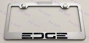 Ford Edge Stainless Steel License Plate Frame Rust Free W Bolt Caps