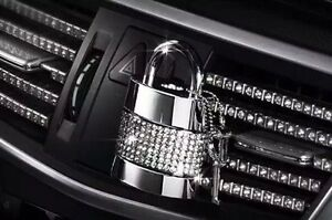 Car Air Vent Air Freshener Made With Swarovski Crystal For Mercedes Lexus Audi