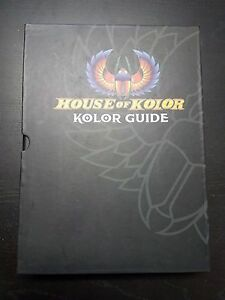 House Of Kolor Color Chip Book Kolor Guide Shimrin Shimrin 2 Kandy Paint