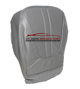 2000 Ford Expedition Eddie Bauer Xlt Driver Side Bottom Leather Seat Cover gray