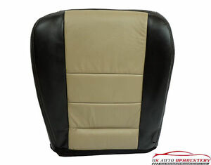 2005 Ford Excursion Eddie Bauer 2wd 6 0l Diesel Leather Driver Bottom Seat Cover