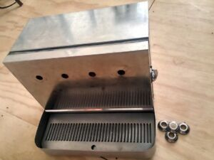 Stainless Steel Beer Draft Top Box With Space For Four Faucet Shanks