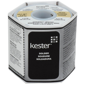 Kester 50 Activated Rosin Cored Wire Solder Roll 245 No clean 63 37 0 031 D