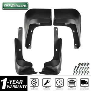 For Toyota Corolla 2014 2018 Sedan Splash Guards Mud Flaps Molded Fh