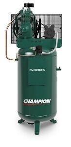 Champion 5hp Single Phase 2 Stage Air Compressor Vrv5 6 60 Gallon