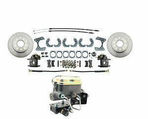 Ford 9 Rear Disc Brake Conversion Kit Master Cylinder Adjustable Prop Valve