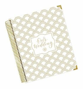 Bloom Daily Planners Undated Wedding Planner Hard Cover Wedding Day Pla