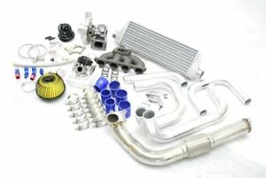 Fits Civic Del Sol D15 D16 D Series T3 T4 Bolt On Turbo Charger Kit Manifold