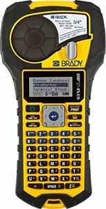 Brady Bmp21 plus Handheld Label Printer With Rubber Bumpers Multi line