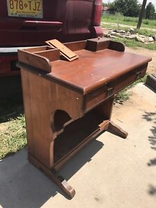 Primitive Captain S Davenport Desk
