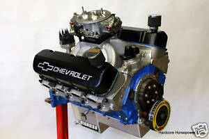 496ci Big Block Chevy Pro Street Engine 675hp Built To Order Dyno Tuned
