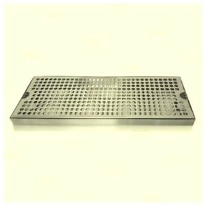 New Stainless Steel Drip Tray Holes 16 X 6