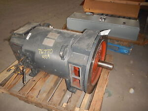 100 Hp Dc General Electric Motor 1150 Rpm 409atd Frame Dp 500 V