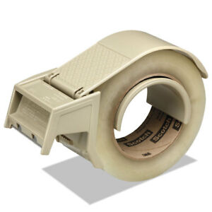 Scotch Compact And Quick Loading Dispenser For Box Sealing Tape 3 Core Plastic