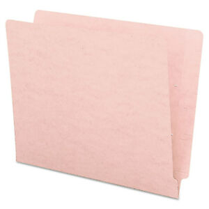 Smead Colored File Folders Straight Cut Reinforced End Tab Letter Pink 100 box