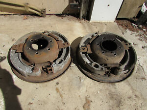 1928 Nash Special Six Front Backing Plates W brakes