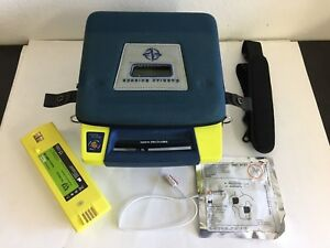 Cardiac Science Powerheart G3 Biphasic Aed W New Battery New Adul Pad And Case