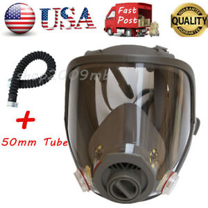 Dust Paint Spraying Of 6800 Full Face Facepiece Respirator Gas Dust Mask tube