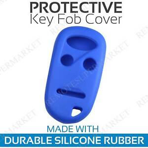 Remote Key Cover Case For 1996 1997 1998 1999 2000 2001 2002 Honda Accord Blue