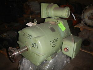 100 Hp Dc Louis allis Electric Motor 1150 Rpm 504a Frame Dp 500 V