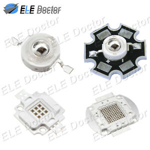 High Power 1w 3w 5w 10w 20w 30w 50w 100w Infrared Ir 730nm Led Beads Board Lamp