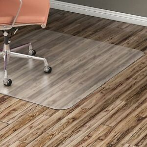 Lorell Hard Floor Chairmat Rectangular 36 x48 Clear 82825