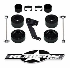 Rubicon Express 2 5 Economy Lift Leveling Kit Jeep Wrangler Jk 2007 2017 Re7133