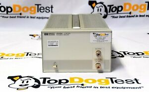Hp Agilent Keysight 8348a Microwave Amplifier 26 5 Ghz 10 Vdc 20 Dbm Rf