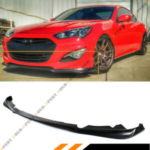 Fits For 2013 2016 Hyundai Genesis Coupe Kdm Ks Style Front Bumper Lip Splitter