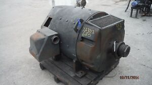 300 Hp Dc General Electric Motor 1150 Rpm 685as Frame Dpfv 550 V Arm