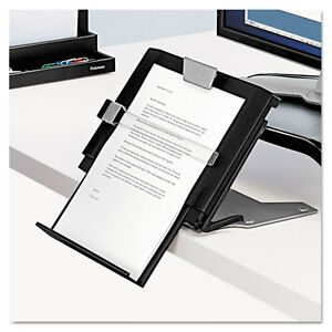 Fellowes Professional Series Document Holder Plastic 250 Sheet Capacity Black