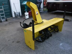 John Deere 59 Snow Blower 2 Stage With Front 3 Point Hitch For 3720 Front Mount