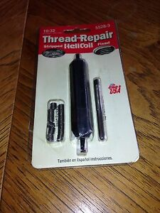 Helicoil 10 32 Complete Thread Repair Kit New