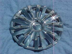 2014 Vw Volkswagen Golf 15 Chrome Hubcaps 4 New Hub Caps Wheel Covers