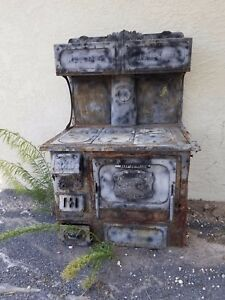 Price Drop Old Majestic Wood Burning Cook Stove Original Price Dropped