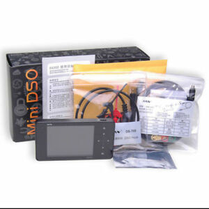 Mini Oscilloscope Ds202 Portable Digital Storage 3 tft Touch Screen Dual Chanel