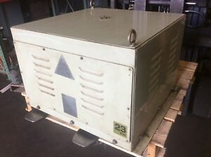 Gomi Electric Transformer 23 Kva 3 Ph E2564 254 8 Used Warranty