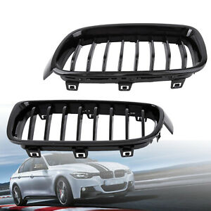 For Bmw F30 F31 3 Series Kidney Grill Grille Gloss Black M3 Look Sport 2012 2014