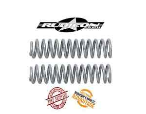 Rubicon Express 2 5 Front Coil Springs For 1997 2006 Jeep Wrangler Tj Lj Re1312