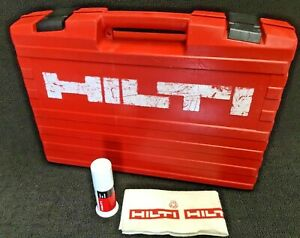 Hilti Te 6 c case Only Good Condition Strong Original Fast Shipping