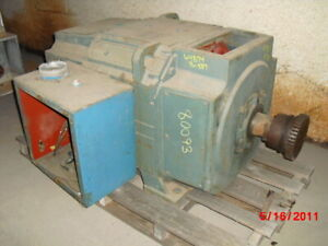 300 Hp Dc Reliance Electric Motor 850 Rpm B587atz Frame Dpfv 500 V Arm