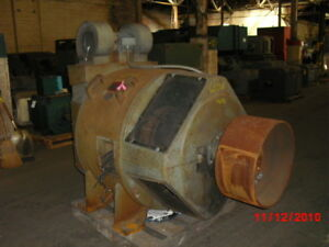 300 Hp Dc General Electric Motor 650 Rpm 6453 Frame Dpfv 500 V Arm