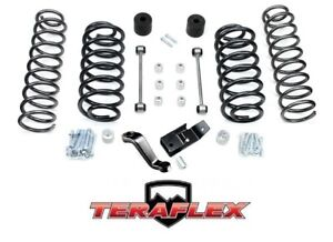 Teraflex Tj 4 Suspension Coil Spring Lift Kit For 1997 2006 Jeep Wrangler Tj Lj
