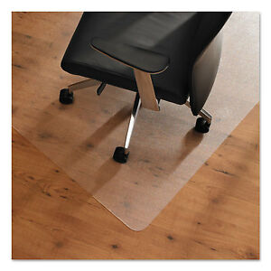 Floortex Cleartex Ultimat Anti slip Chair Mat For Hard Floors 48 X 53 Clear
