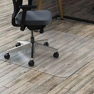 Lorell Hard Floor Chairmat Rectangular 46 x60 Clear 69708