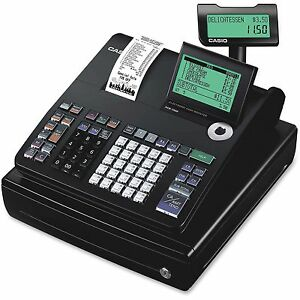 Casio Inc Display Cash Register 10 line 12 4 5 x13 1 2 x6 1 2 Bk Pcrt500