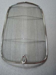 1932 Ford Car Stainless Grille Insert W Crank Hole 32 Sedan Coupe Street Ro