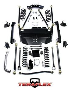Teraflex Tj 4 Pro Lcg Long Arm Suspension Lift Kit For 1997 2006 Jeep Wrangler